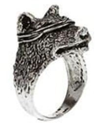 GIACOMOBURRONI 'indomitus' Ring - Metallic