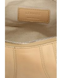 Lemaire 'small Croissant' Crossbody Bag - Natural