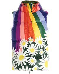 Moncler Genius X Richard Quinn 'raquel' Vest - Multicolour