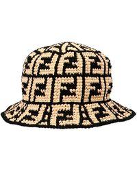 Fendi 'ff' Bucket Hat - Multicolour