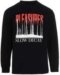 Pleasures 'mirrors' T-shirt - Black