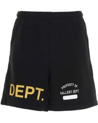 GALLERY DEPT. Bermuda 'Dept Short' - Nero