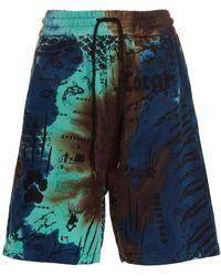 Mauna Kea 'manifesto' Bermuda Shorts - Multicolour