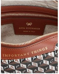 Anya Hindmarch 'i Am A Plastic Bag' Clutch - Multicolor
