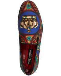 Dolce & Gabbana Mocassino 'Milano' - Multicolore