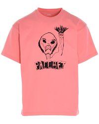 Rassvet (PACCBET) T-shirt stampata - Rosa