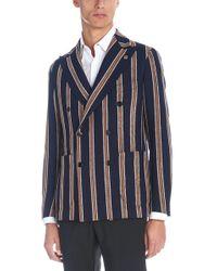 Tagliatore - Pinstripes Jacket Drop - Lyst