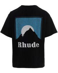 Rhude Sundry Tee' T-shirt - Black