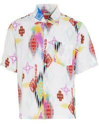 Aries Camicia 'Ikat Hawaiian' - Multicolore