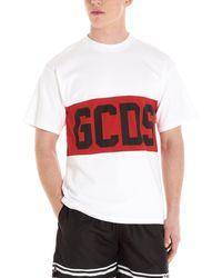Gcds T-shirt a girocollo - Bianco