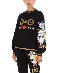 Dolce & Gabbana 'd&g' Sweatshirt - Black