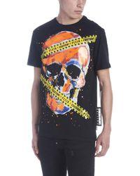 Philipp Plein - T-shirt 'Caution plein' - Lyst