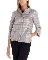 Herno Collared Down Jacket - Gray