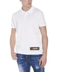 DSquared² - Polo logo army - Lyst