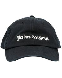 Palm Angels Cappellino logo - Nero