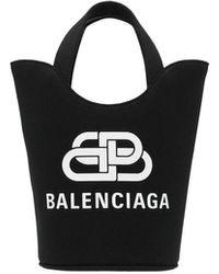 Balenciaga Shopping 'Wave XS' - Nero