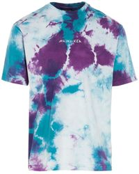 Mauna Kea Tie-dye Cotton T-shirt - Blue
