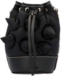 Moncler Genius Jw Anderson Relief Details Bucket Bag - Black