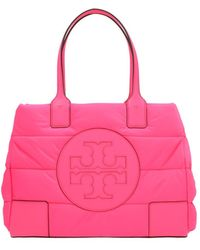 Tory Burch Shopping 'Ella puffy quilted' mini - Rosa