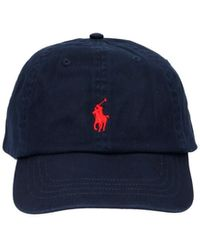 Polo Ralph Lauren Cappellino logo - Blu