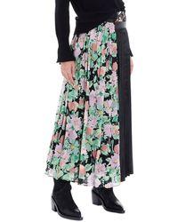 Junya Watanabe Patchwork Skirt - Green