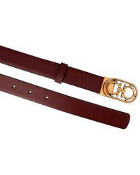Ferragamo 'donna' Reversible Belt - Multicolour