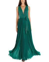 Elisabetta Franchi 'red Carpet' Dress - Green