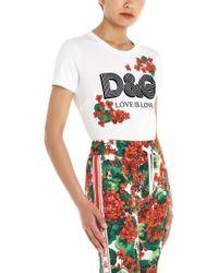 Dolce & Gabbana T-shirt logo - Bianco