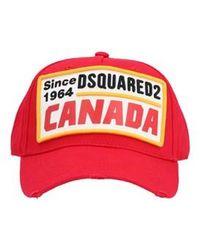 2cc568245 'canada' Cap - Red