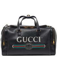 a2b08c4b332 Lyst - Gucci Large Carry-on Duffle Bag in Gray for Men