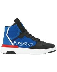 Givenchy Wing High-top Trainers - Blue