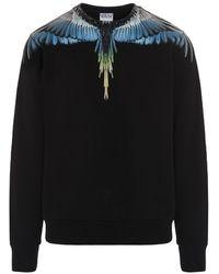 Marcelo Burlon 'wings' Sweatshirt - Black