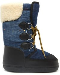 DSquared² - Lace-up Moon Boots - Lyst