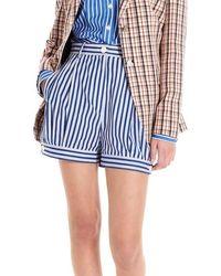 Prada Stripes Shorts - Blue