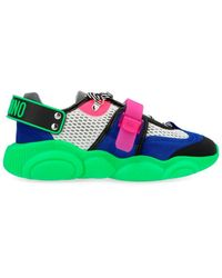 Moschino Teddy Shoes Fluo Sneakers - Green