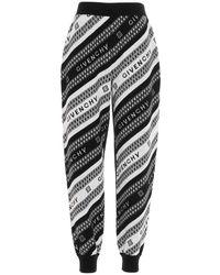 Givenchy Jogging logo jacquard - Nero