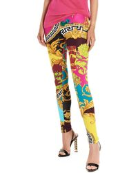 Versace Leggings 'Barocco boyage' - Multicolore