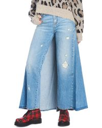 R13 - Frontal Split Skirt - Lyst
