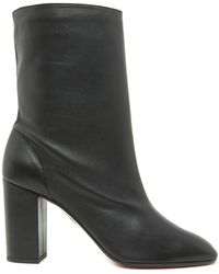 Aquazzura - 'boogie' Ankle Boots - Lyst