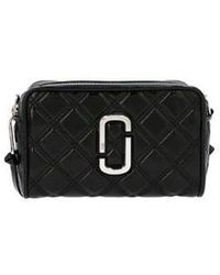 Marc Jacobs 'the Quilted Softshot 21' Crossbody Bag - Black