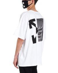 Off-White c/o Virgil Abloh 'splitted Arrow' T-shirt - White