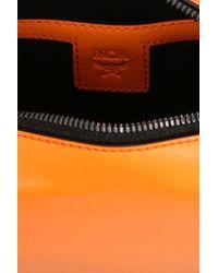 MCM 'soft Berlin' Mini Crossbody Bag - Orange
