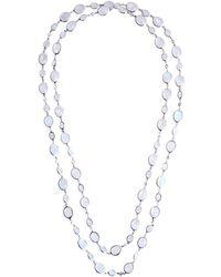 Nina Runsdorf | Moonstone Necklace | Lyst