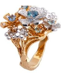 Mimi So - Wonderland Orchid Ring - Lyst
