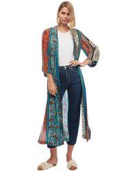 Chufy Alqamar Long Robe - Blue