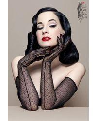 Dita Von Teese | The Bon Bon Gloves | Lyst