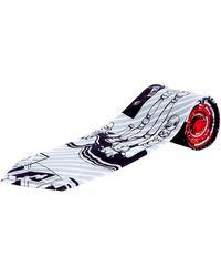 Prada - Comics Stencil Silk Tie - Lyst