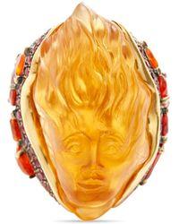 Madstone Persephone Diamond Ring - Orange