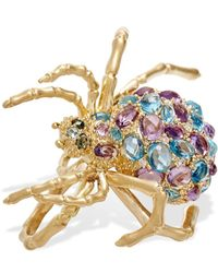 Madstone Madspider Double Ring - Metallic