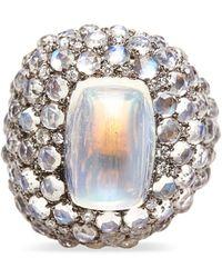 Madstone Selene Diamond Ring - Metallic
